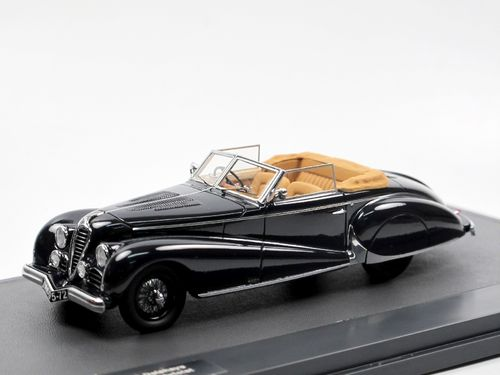 Matrix 1949 Delahaye 135M Cabriolet by Antem blue 1/43