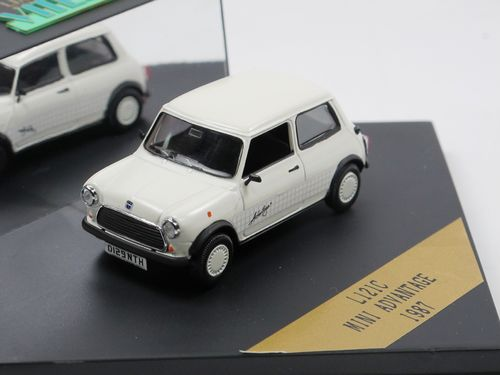 Vitesse 1987 Austin Mini Advantage white 1/43