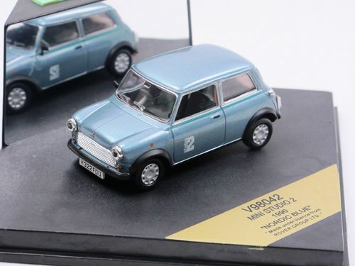 Vitesse 1990 Rover Mini Studio 2 blau metallic 1/43
