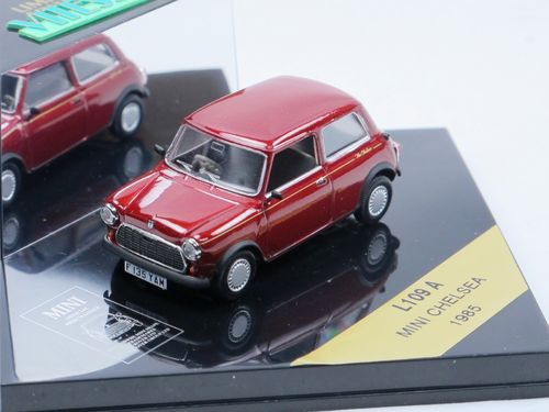 Vitesse 1985 Austin Mini CHELSEA red metallic 1/43