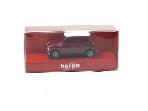 Herpa Mini Cooper purple/white 1/87