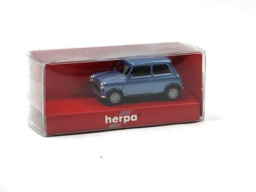 Herpa 1985 Mini Mayfair blau metallic 1/87