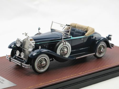 GLM Models 1930 Packard 734 Boattail Speedster blue 1/43