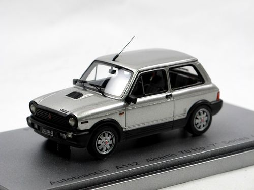 Kess 1984 Autobianchi A112 Abarth 7-Series grey metallic 1/43