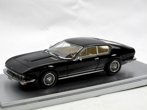 Kess 1970 Dodge Challenger Special Frua Coupe black 1/43