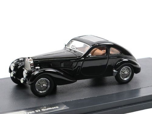 Matrix Scale Models 1937 Bugatti Type 57 Guillore black 1/43