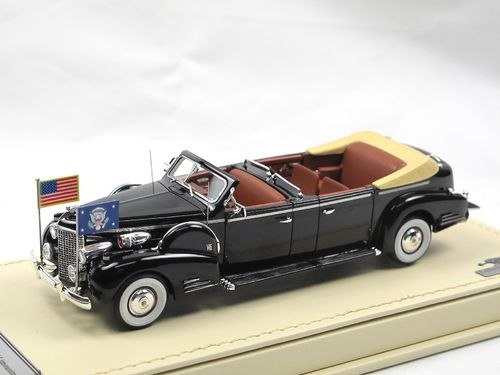 TSM 1938 Cadillac Series 90 V16 Queen Mary Presidential Convertible 1/43