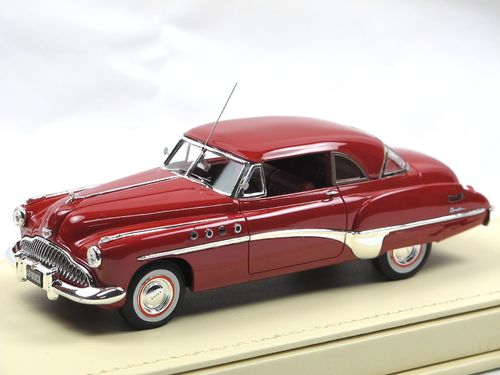 TSM Model 1949 Buick Roadmaster Riviera Coupe Red 1/43