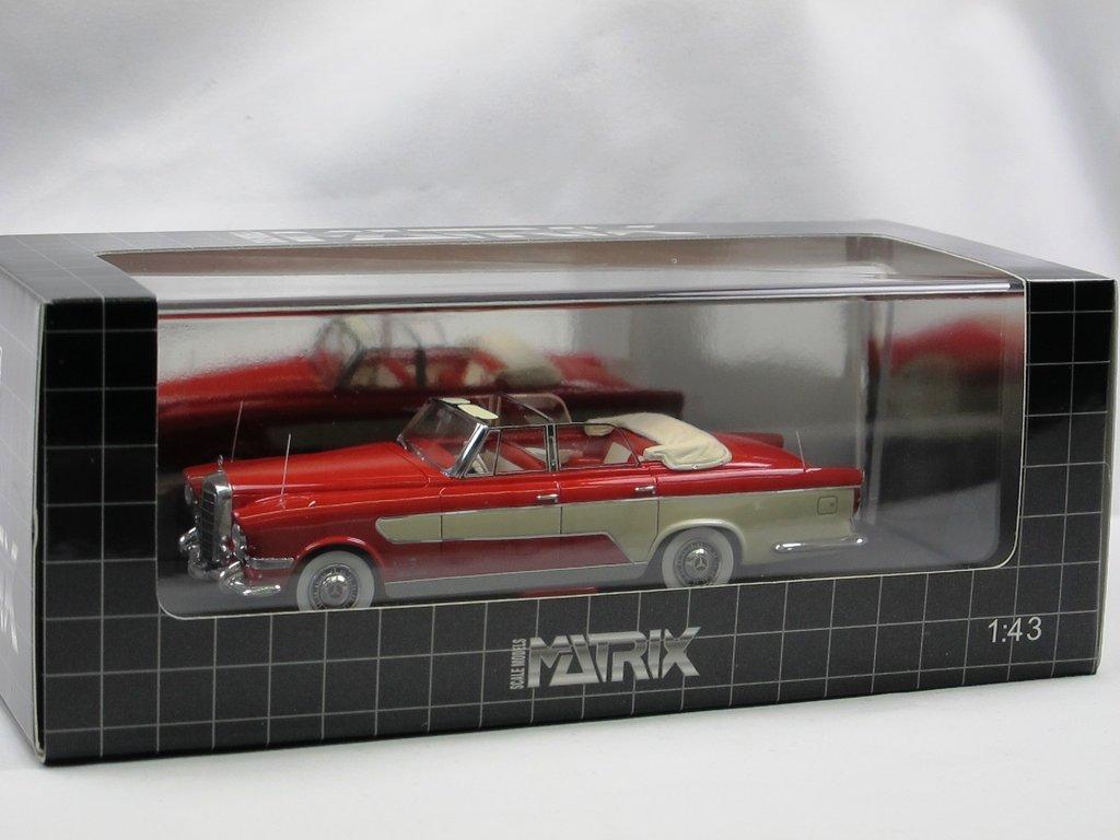 Matrix 1956 ghia mercedes benz 300c allungata cabriolet for Mercedes benz 300c