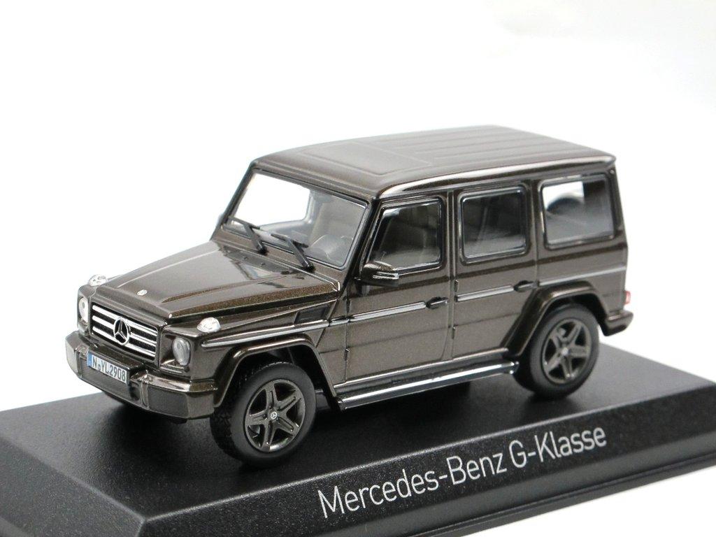 norev 2016 mercedes benz g klasse braun metallic 1 43 g modell. Black Bedroom Furniture Sets. Home Design Ideas