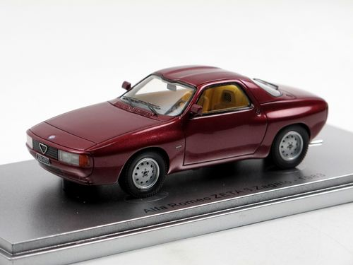 Kess 1983 Alfa Romeo ZETA 6 Zagato Coupe red metallic 1/43