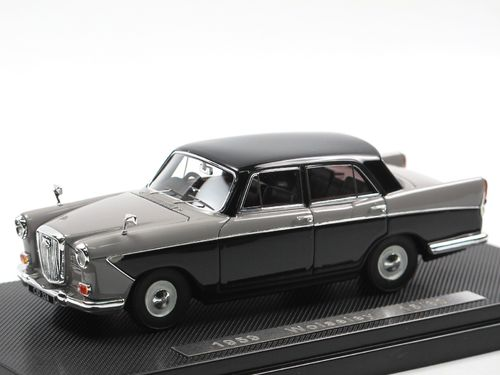 Silas Models 1959 Wolseley 15/60 Birch Grey/Black 1/43