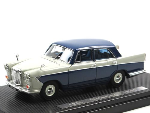 Silas Models 1959 Wolseley 15/60 Smoke Grey/Blue 1/43