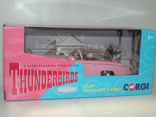 Gerry Anderson Thunderbirds Lady Penelope FAB I mit Figuren