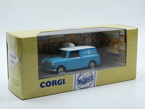 Corgi Mini Van RAC Radio Rescue - Road Services 1/43