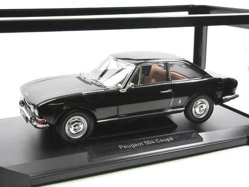 Norev 1973 Peugeot 504 Coupe braun 1/18
