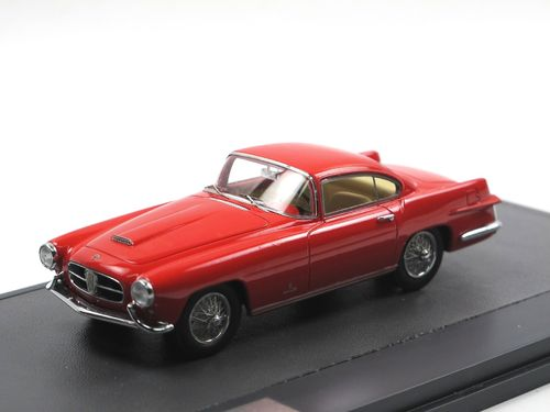 Matrix 1955 Jaguar XK140 Coupe by Ghia red 1/43