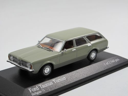 Minichamps 1970 Ford Taunus TC Turnier grau 1/43