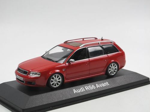 Minichamps 2002 Audi RS6 Avant C5 Misano Red 1/43