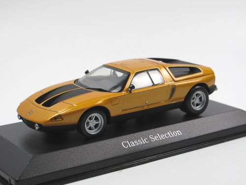 Minichamps 1970 Mercedes-Benz C111/II orange 1/43