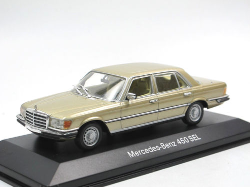 Minichamps 1972 Mercedes-Benz 450 SEL W116 gold 1/43