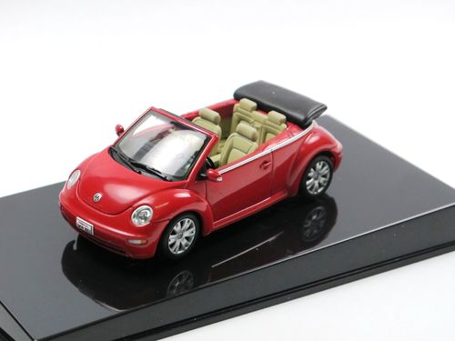 AutoArt VW New Beetle Cabriolet 2003-2005 rot 1/43