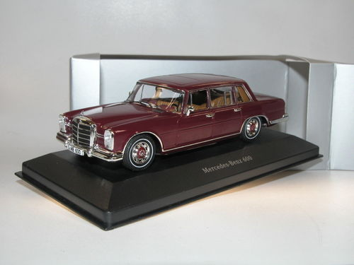 Premium Collectibles 1963 Mercedes-Benz 600 barolorot 1/43