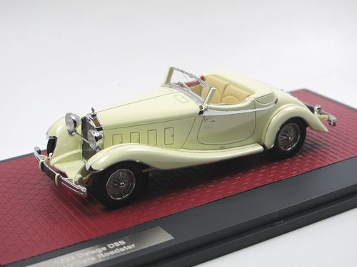 Matrix 1933 Delage D8S De Villars Roadster white 1/43