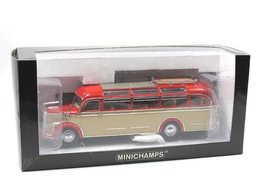 Minichamps 1955 Mercedes-Benz O 3500 Bus rot/creme 1/43
