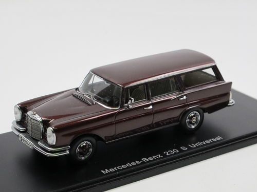 Spark 1966 Mercedes-Benz 230 S Universal (W110) rot 1/43