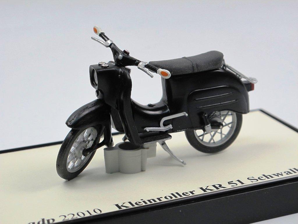 adp modelle motorroller simson schwalbe kr 51 schwarz 1 22. Black Bedroom Furniture Sets. Home Design Ideas