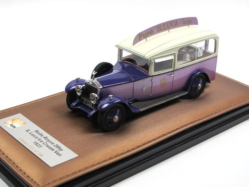 GLM 1923 Rolls Royce 20 HP S. Luca Ice Cream Van 1/43