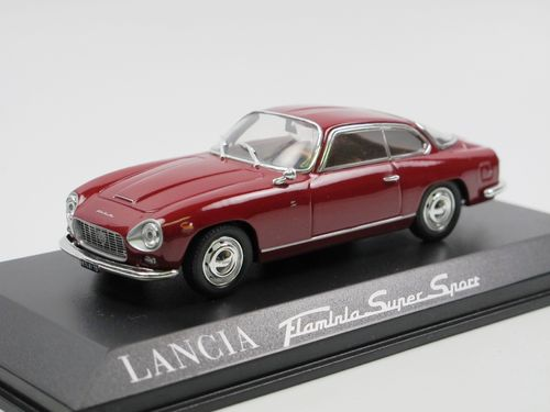 Norev 1964 Lancia Flaminia Supersport by Zagato red 1/43