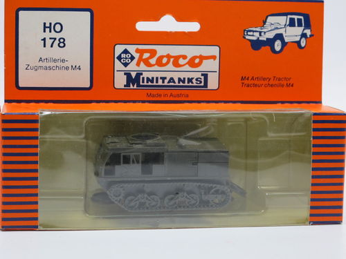 Roco Minitanks M4 High Speed Tractor US Army 1/87