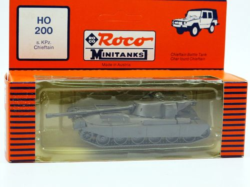 Roco Minitanks Battle Tank Chieftain Kampfpanzer GB/IR 1/87