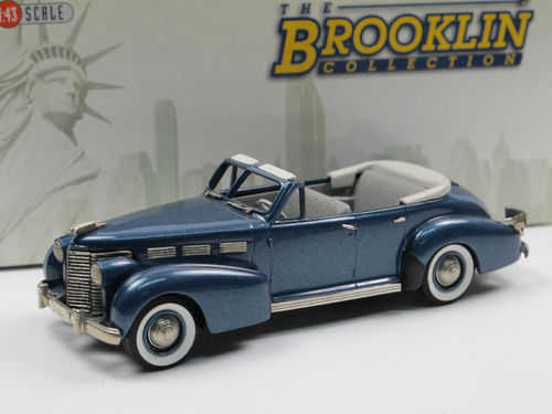 Brooklin 1938 Cadillac Sixty Special Convertible Sedan 1/43