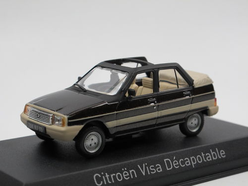 Norev 1984 Citroen Visa Décapotable Plein Air 1/43