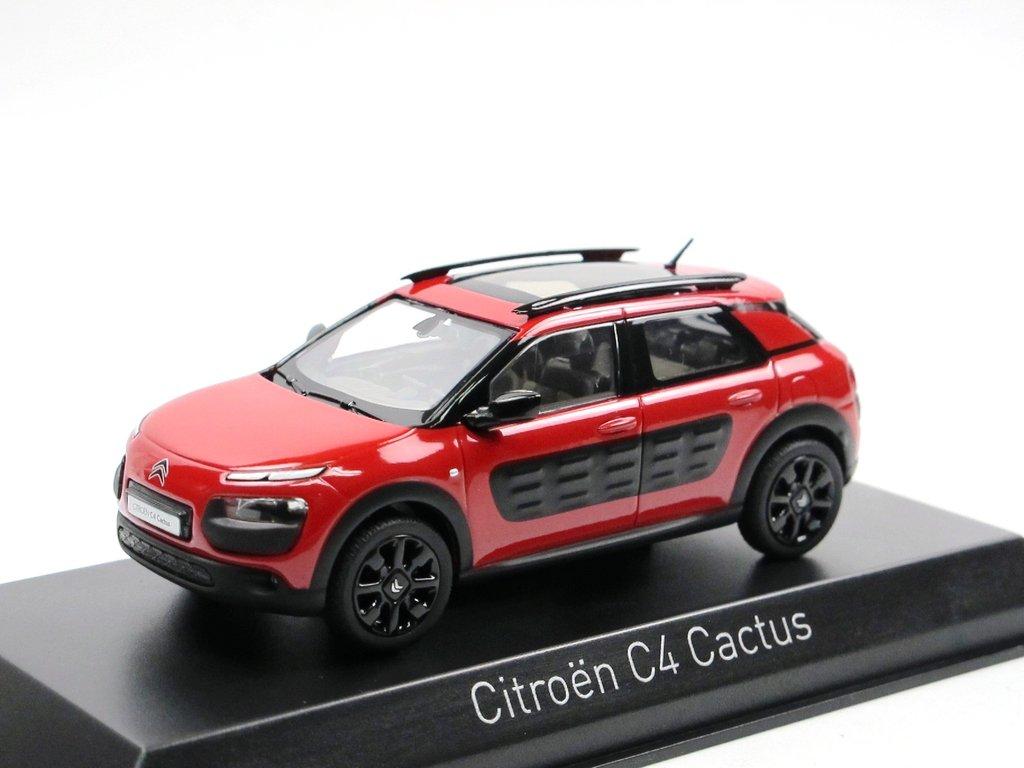 norev 2014 citroen c4 cactus aden red 1 43 die cast modellauto. Black Bedroom Furniture Sets. Home Design Ideas