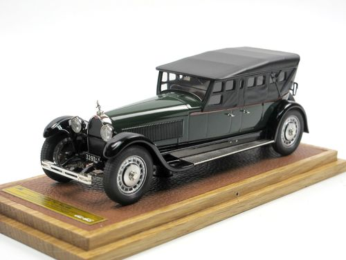 EMC 1927 Bugatti T41 Royale Prototype Packard Body closed 1/43