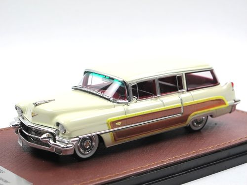 GLM 1956 Cadillac Viewmaster by Hess + Eisenhardt cream 1/43