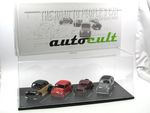 AutoCult Set Volksmotorisierung The Road to People's Car 1/43