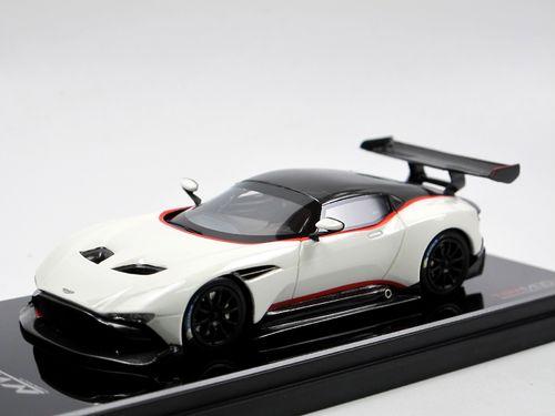 Tsm Model 2015 Aston Martin Vulcan Weiß Schwarz Modellauto 1 43