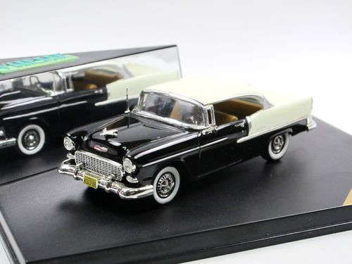 Vitesse 1955 Chevrolet Bel Air Sport Coupe black/ivory 1/43