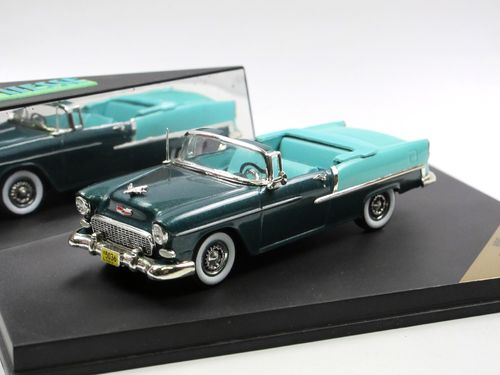 Vitesse 1955 Chevrolet Bel Air open Convertible green 1/43