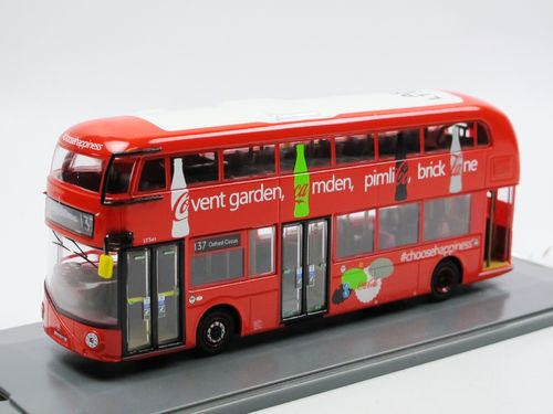 Corgi New Routemaster London Bus Line 137 Oxford Circus 1/76