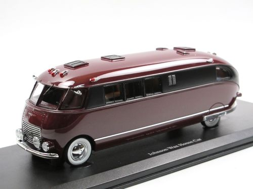 AutoCult 1939 Johnson Wax House Car Motorhome 1/43