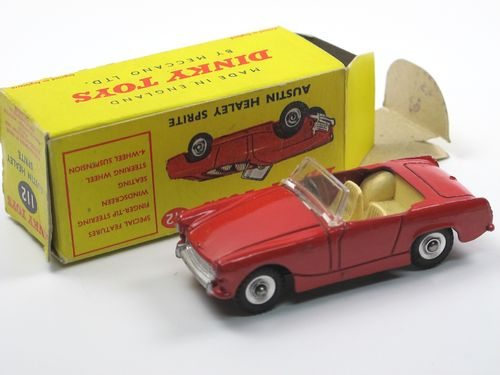 Dinky Toys 112 - Austin Healey Sprite red in Box