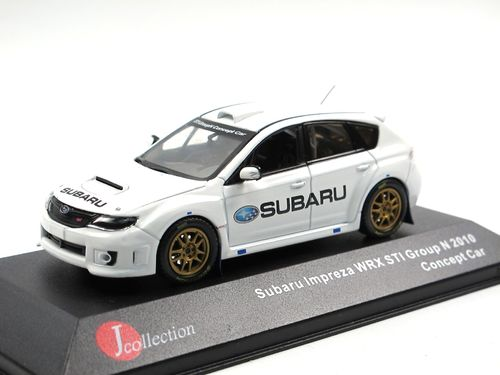 J-Collection 2010 Subaru Impreza WRX STI Concept Car 1/43