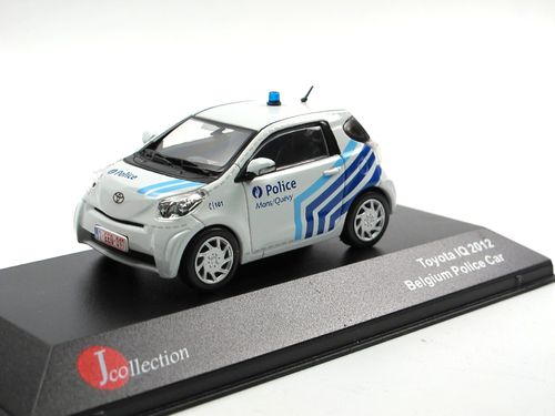 J-Collection Toyota iQ POLICE Polizei Belgien 2012 1/43