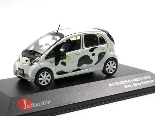 J-Collection 2012 Mitsubishi i-MiEV Elektro K-Car Moo Moo 1/43